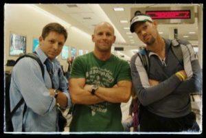 Coach Brad, Rich, and Scott