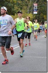 NYC Marathon Starting to hurt