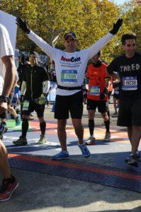 NYC Marathon - Finish line
