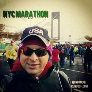 NYC Marathon - corral