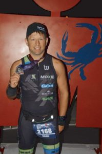 Coach Brad at the Ironman