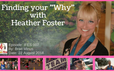 """IFES 007 – Finding your """"Why"""" with Heather Foster"""